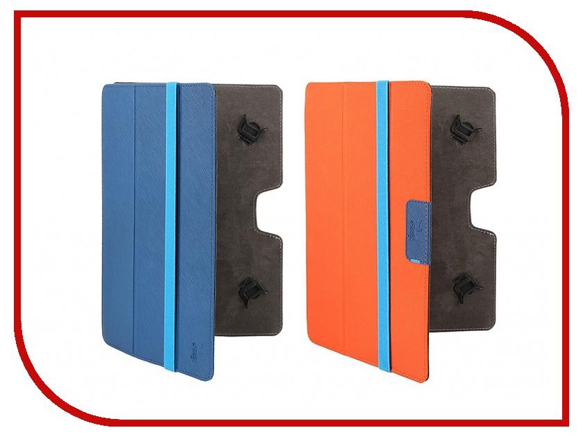Аксессуар Чехол 10.1-inch Snoogy Twin универсальный со сменными передними крышками Blue-Orange<br>