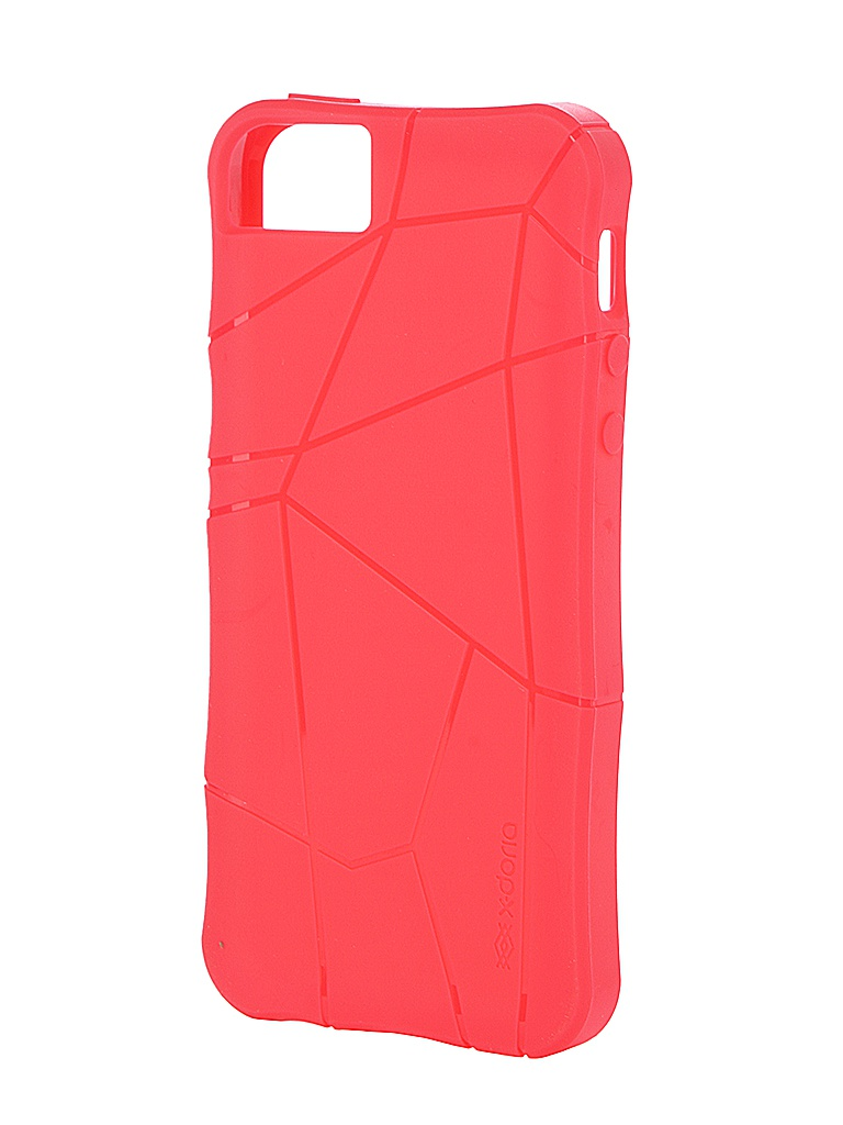 Аксессуар Чехол X-Doria для iPhone 5 / 5S Red<br>