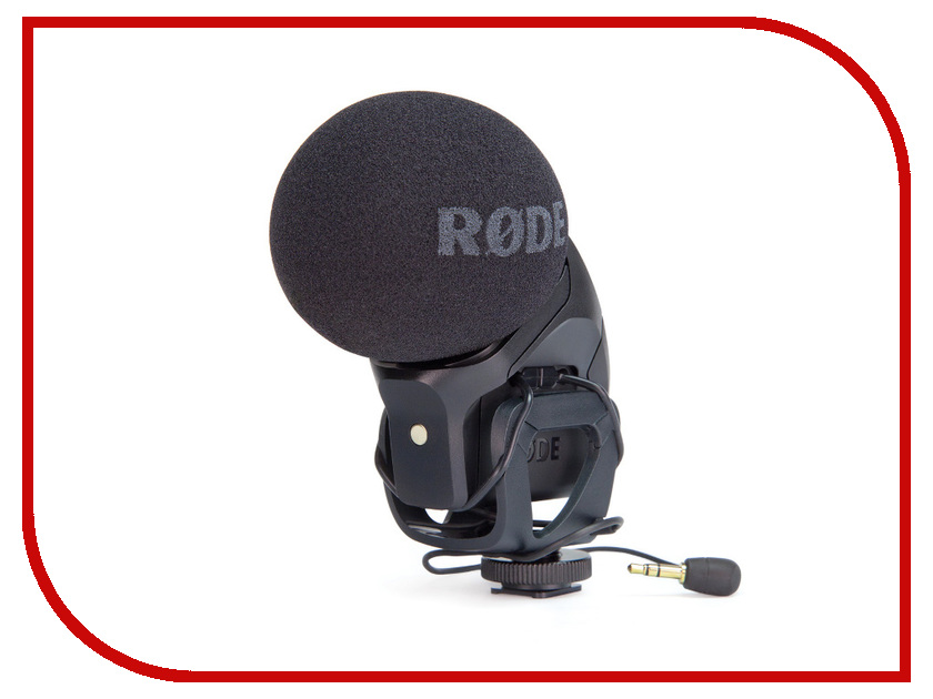 Микрофон Rode Stereo Videomic PRO сумка fred perry fred perry fr006bmeno79