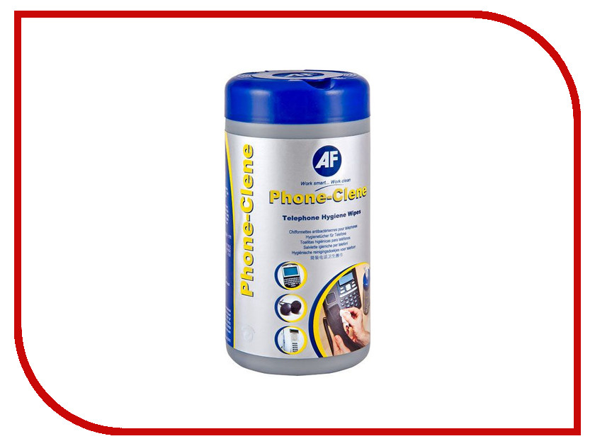 Аксессуар AF International APHC100T - салфетки в тубе Phone-Clene Tb