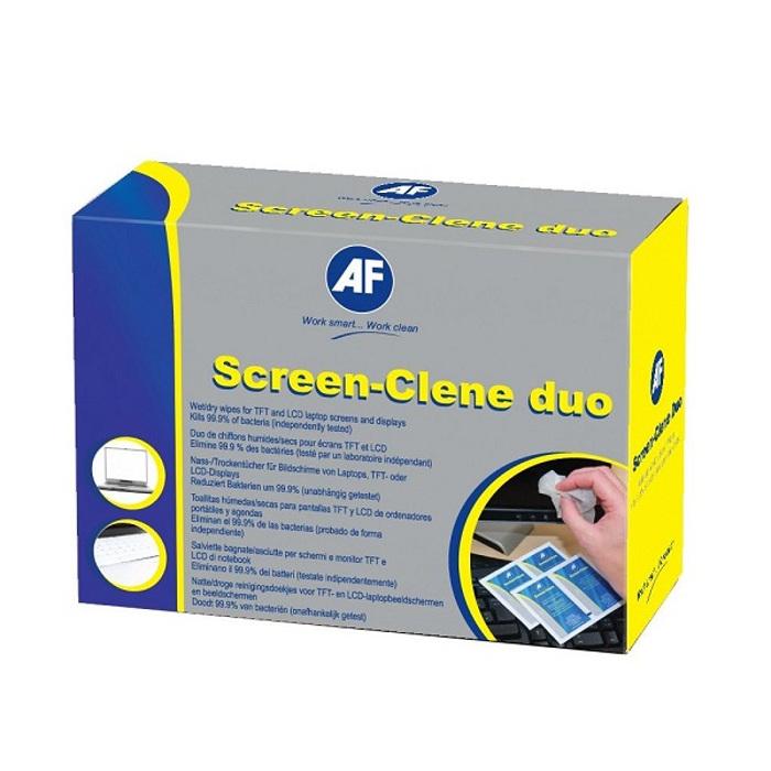 Аксессуар AF International ASCR020 - салфетки Screen-Clene Duo