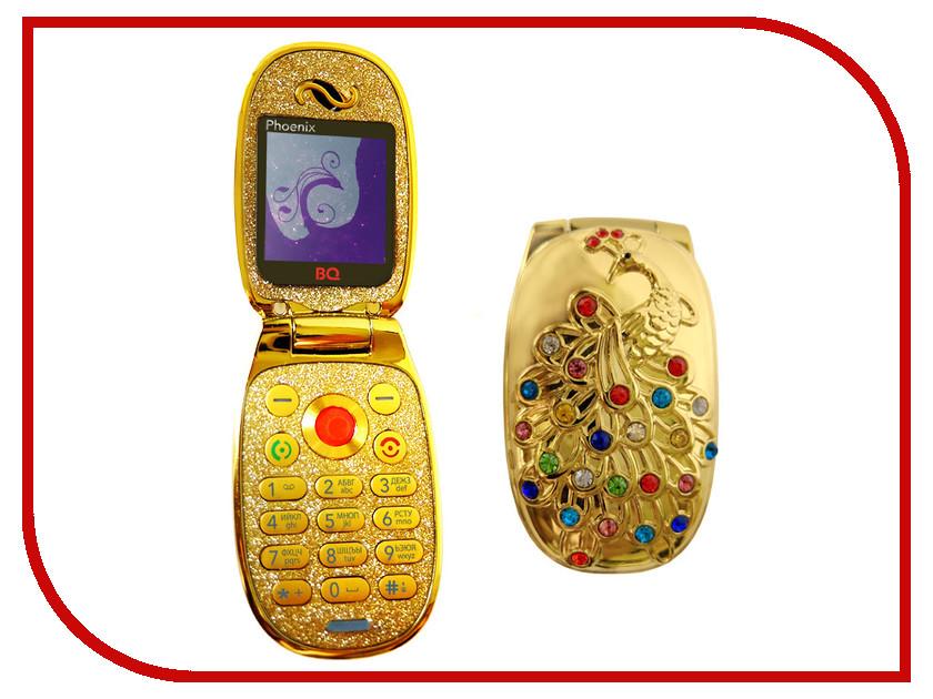 Сотовый телефон BQ BQM-1405 Phoenix Gold сотовый телефон bq bqm 1802 arlon black
