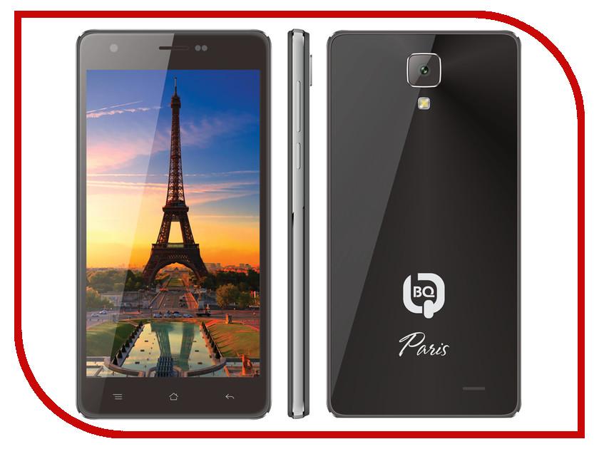 Сотовый телефон BQ BQS-5004 Paris Black<br>