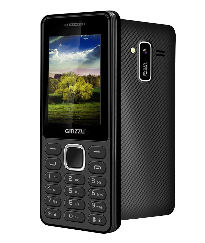 Сотовый телефон Ginzzu M104 DUAL Black<br>