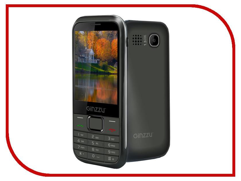 Сотовый телефон Ginzzu M108D DUAL Black сотовый телефон archos sense 55dc 503438