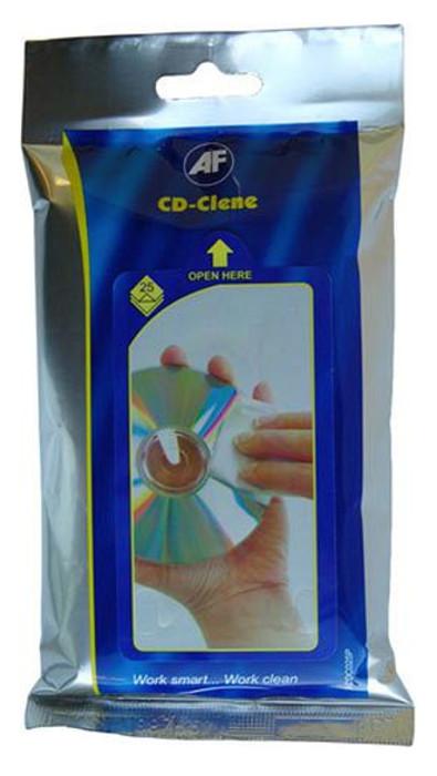Аксессуар AF Internation ACDC025P CD-Clene Flatpack - салфетки