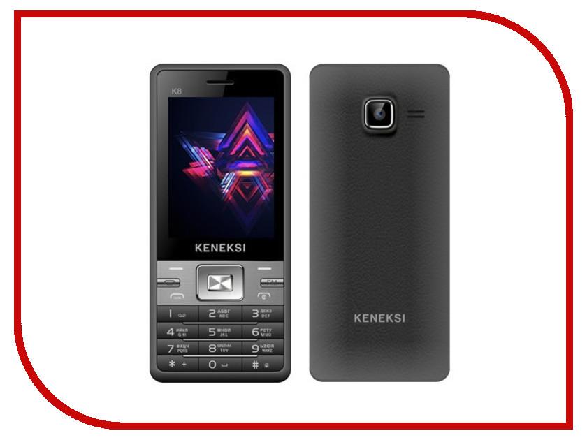 Сотовый телефон KENEKSI K8 Black<br>