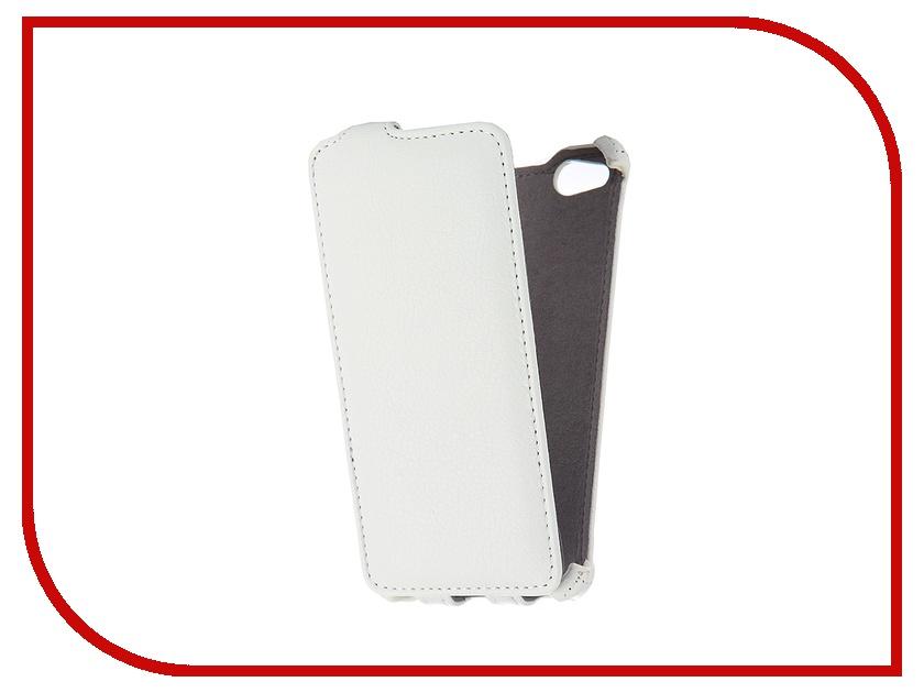 Аксессуар Чехол ZTE Nubia Z9 mini Gecko White GG-F-ZTENBZ9MINI-WH