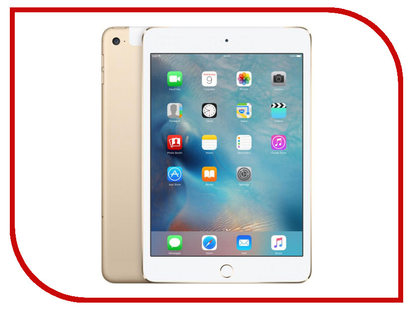 Планшет APPLE iPad mini 4 16Gb Wi-Fi + Cellular Gold MK712RU/A<br>