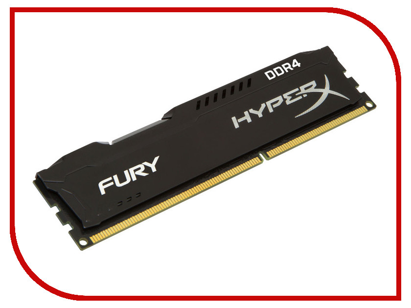 Модуль памяти Kingston HyperX DDR4 DIMM 2133MHz PC4-17000 CL14 - 4Gb HX421C14FB/4
