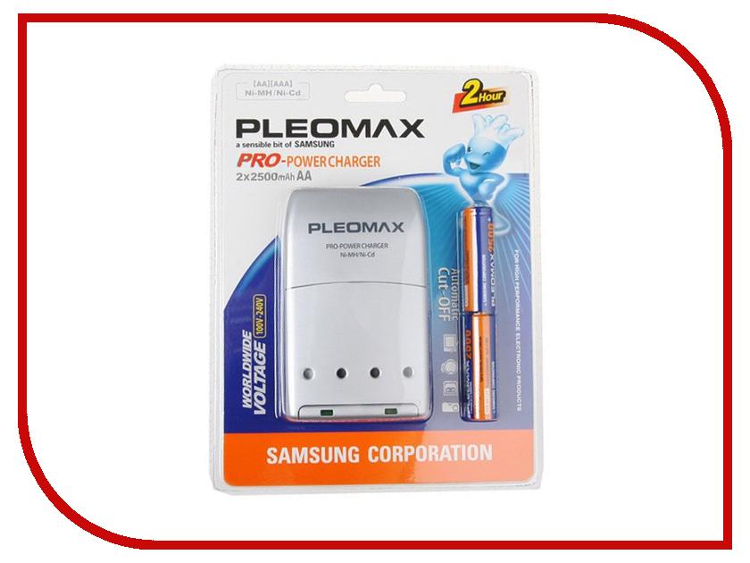 Зарядное устройство Samsung Pleomax 1015 + 2HR6 2500 mAh 14379