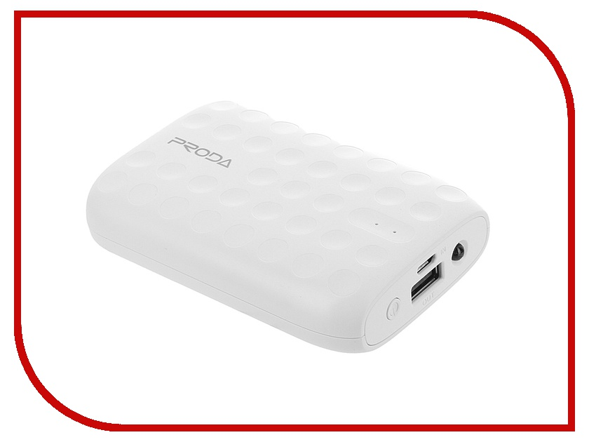 Аккумулятор Remax Proda Lovely Item PR1-009 10000 mAh White 51455<br>