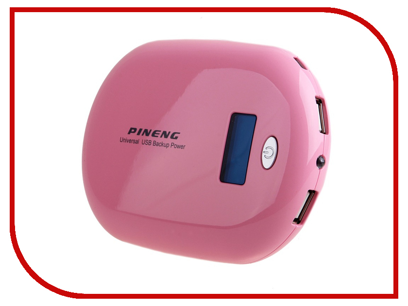 Аккумулятор Pineng PN-938A Pink SBS10000MAH 41832<br>