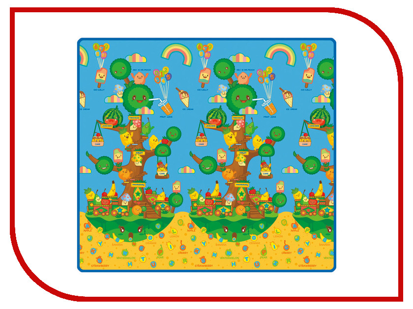 Развивающий коврик Mambobaby Фруктовое дерево 0521Р лесной парк тигрёнок на празднике двухсторо mambobaby