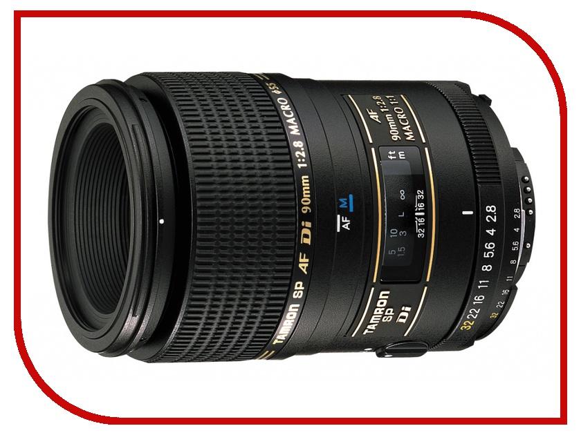 Объектив Tamron SP AF 90mm F/2.8 Di MACRO 1:1 Minolta A / Sony объектив tamron sony minolta sp af 24 70 mm f 2 8 di usd