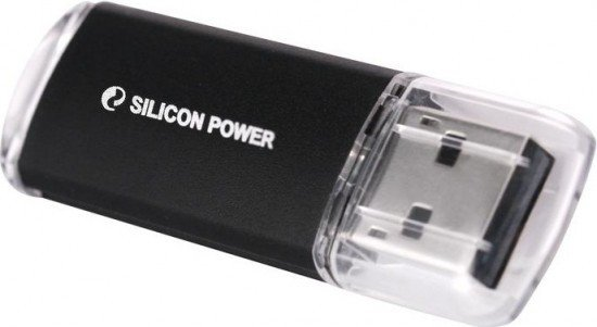 USB Flash Drive 32Gb - Silicon Power Ultima II I-Series Black SP032GBUF2M01V1K