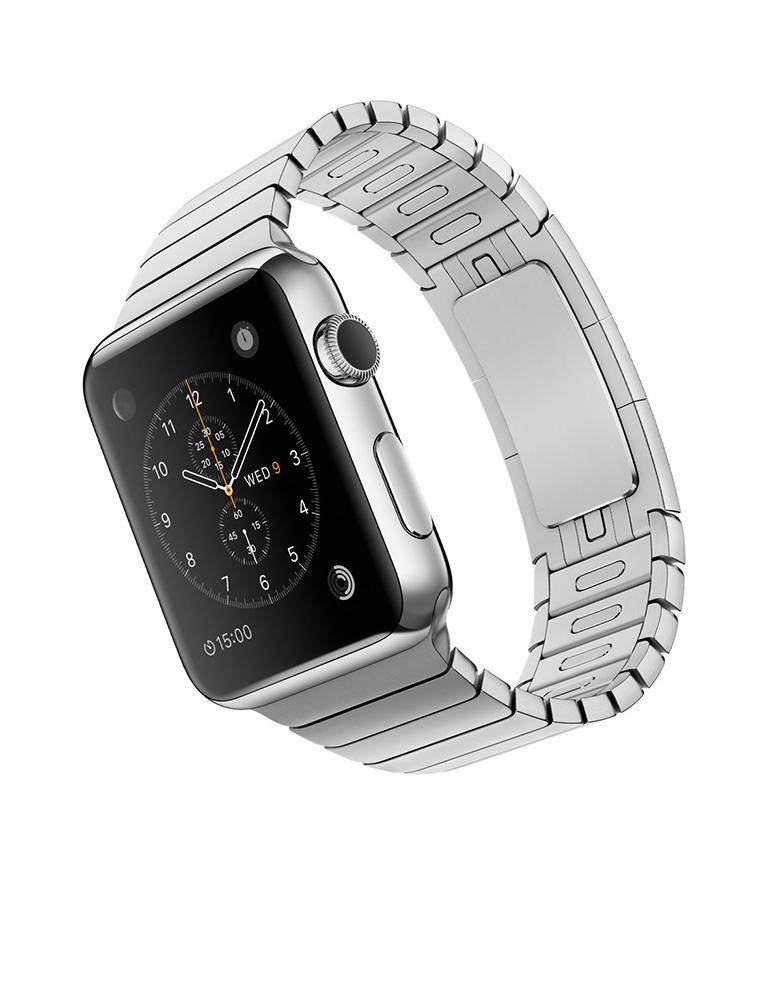 Умные часы APPLE Watch 42mm with Silver Link Bracelet MJ472RU/A
