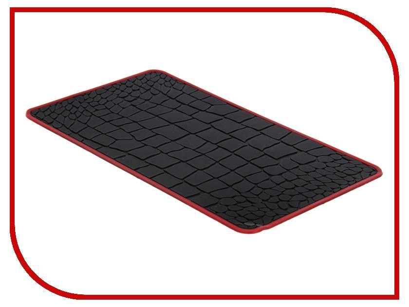 Коврик на торпедо СИМА-ЛЕНД 1014567 Black-Red<br>