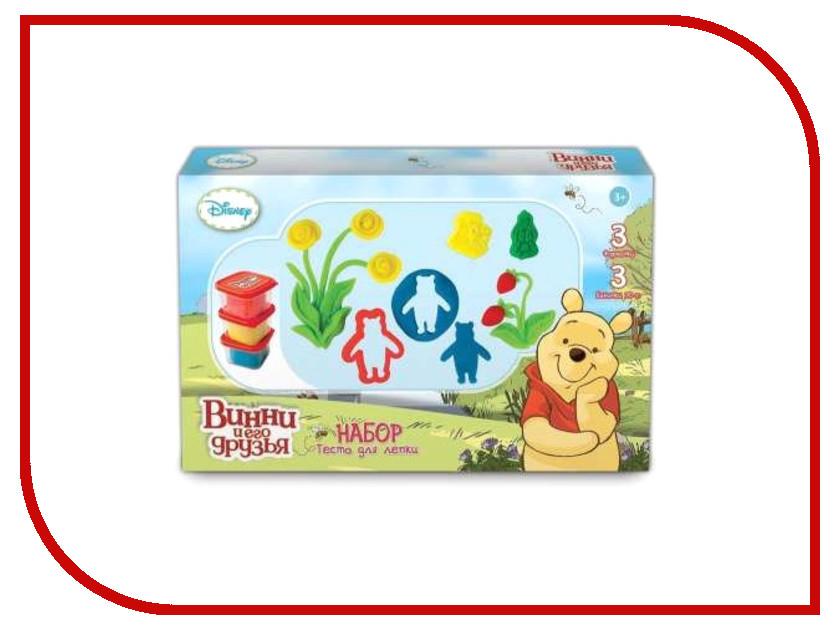 Набор для лепки 1Toy Disney Winnie the Pooh Т57455 Тесто для лепки<br>