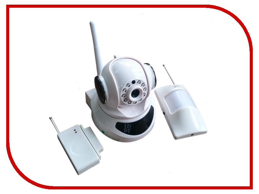 IP камера Zodiak 909 Home Safety ES-IP909IW KIT<br>