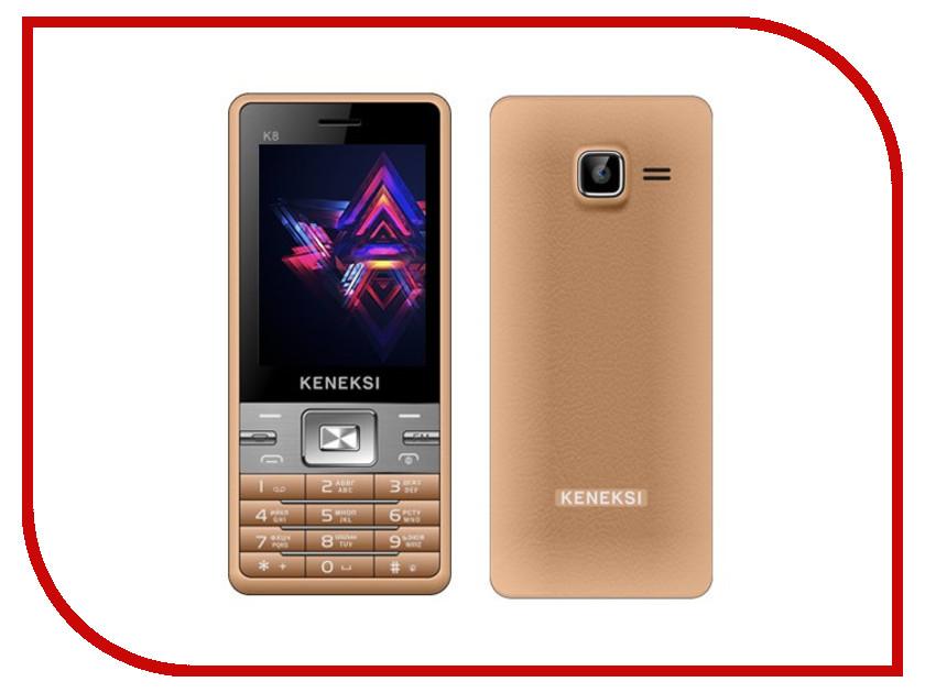 Сотовый телефон KENEKSI K8 Golden