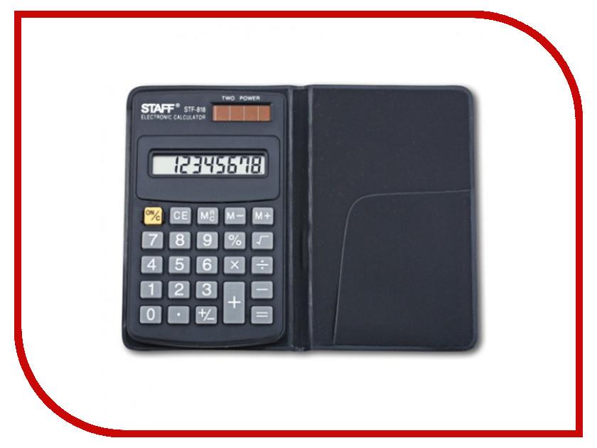 Калькулятор STAFF STF-818