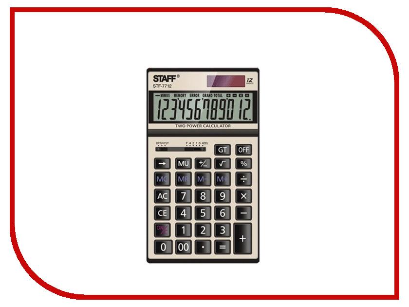 Калькулятор STAFF STF-7712-GOLD<br>