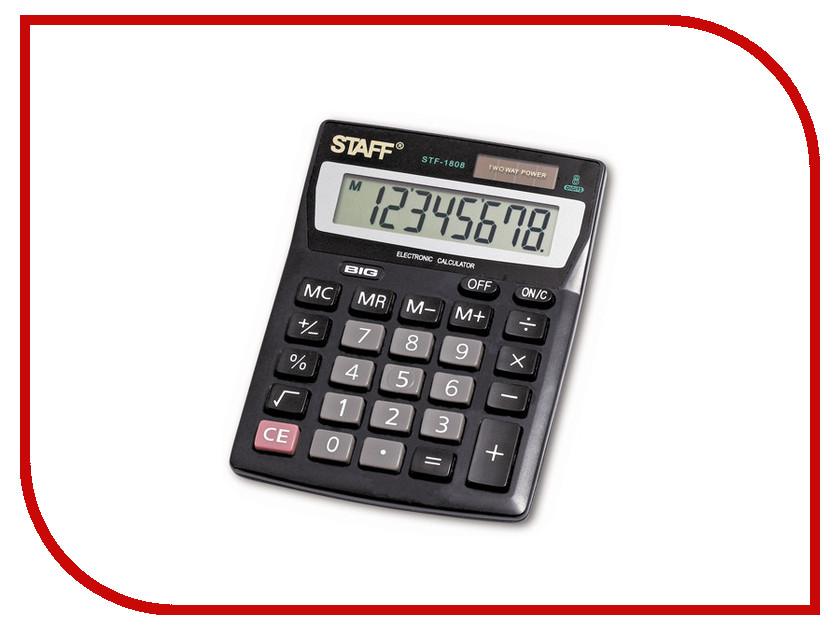 Калькулятор STAFF STF-1808 pikki мюсли кокос кешью шоколад батончик орехово фруктовый 50 г