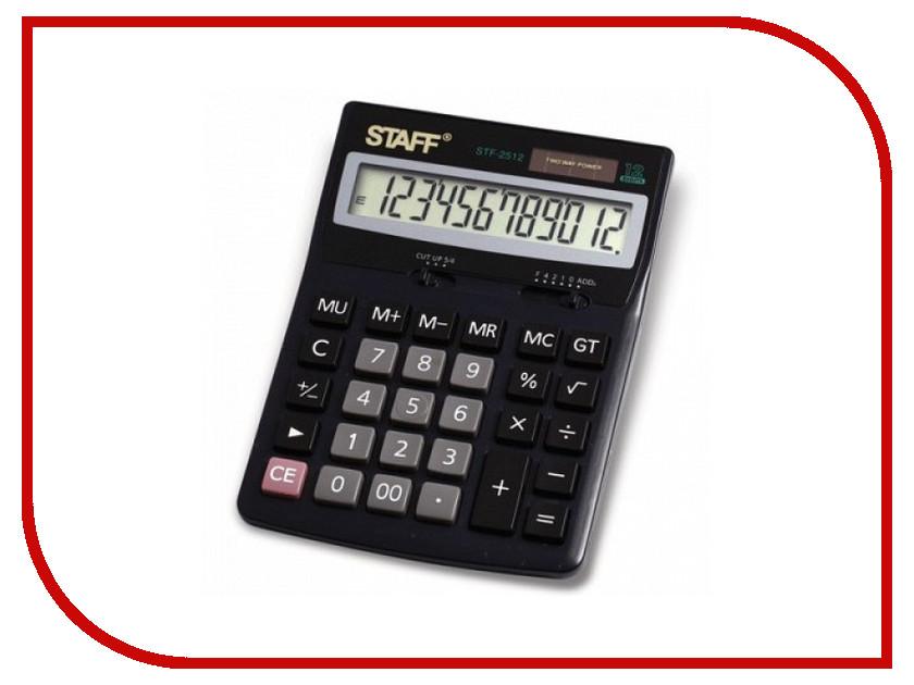 Калькулятор STAFF STF-2512