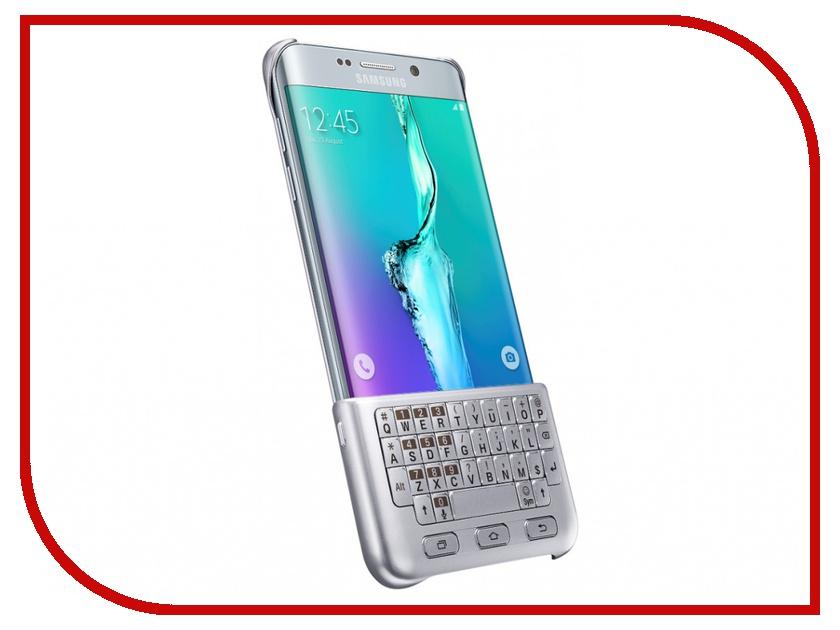 Аксессуар Чехол-клавиатура Samsung SM-G928 Galaxy S6 Edge+ Silver EJ-CG928RSEGRU<br>