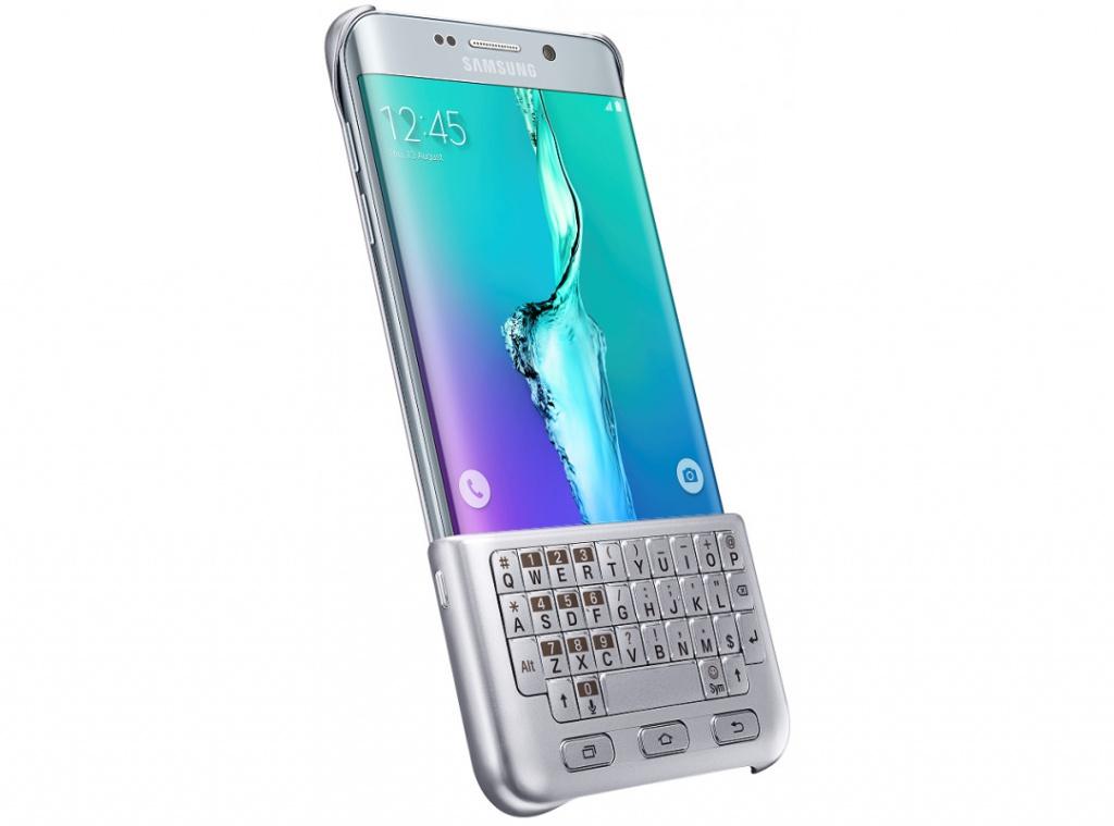 Чехол-клавиатура Samsung SM-G928 Galaxy S6 Edge+ Silver EJ-CG928RSEGRU