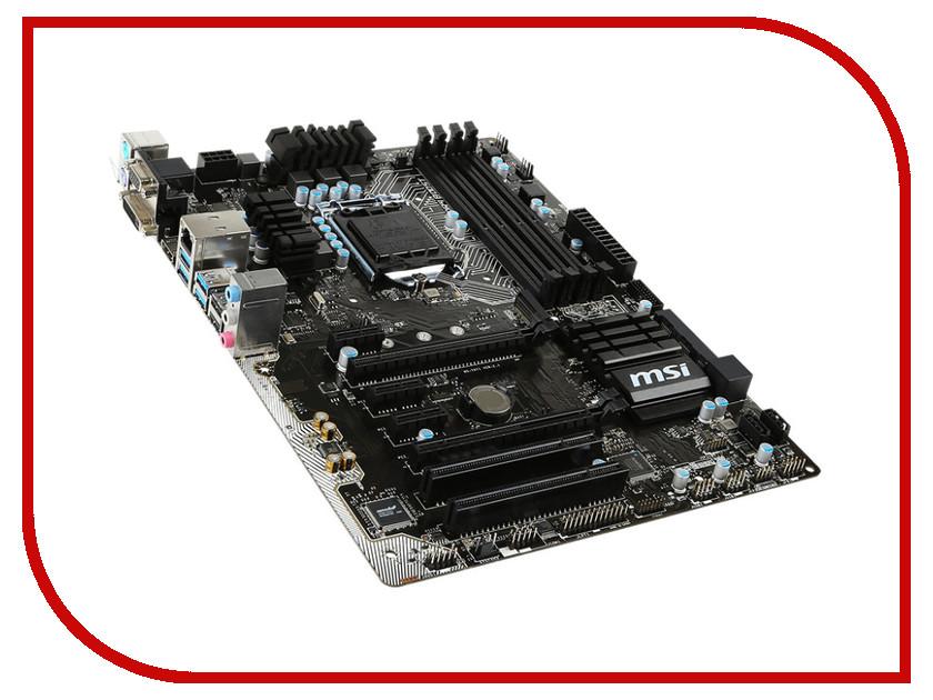 Материнская плата MSI B150 PC Mate<br>