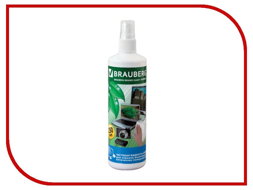 Аксессуар BRAUBERG Чистящая жидкость 250ml 510117