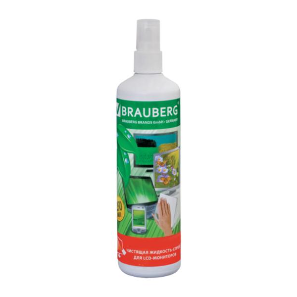 Аксессуар BRAUBERG Чистящая жидкость 250ml 510120