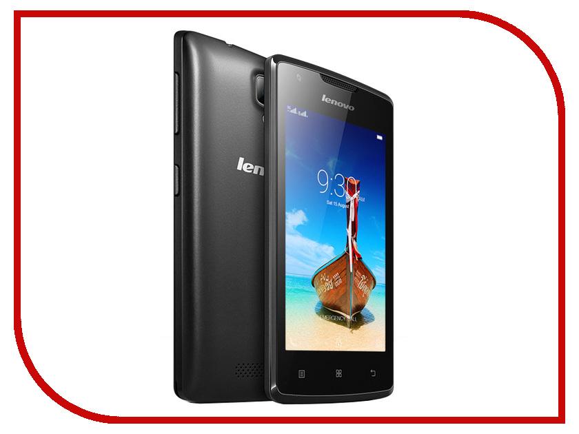Сотовый телефон Lenovo A1000 Dual Sim Black<br>
