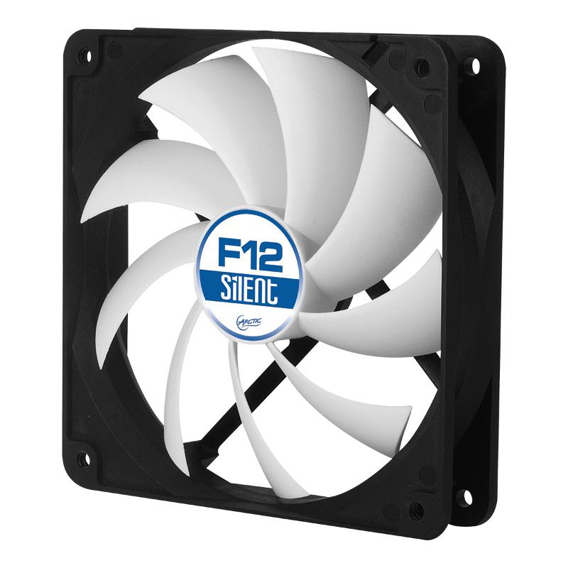 Вентилятор Arctic Cooling F12 Silent ACFAN00027A 120mm дефлектор капота ca hyundai solaris 2011