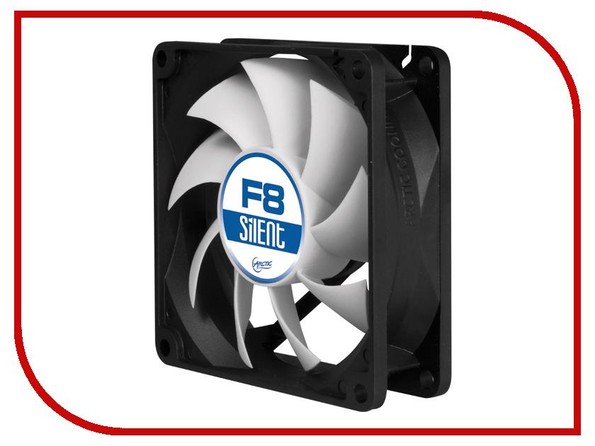 Вентилятор Arctic Cooling F8 Silent ACFAN00025A 80mm new original ebmpapst w2e200 hk38 01 225 80mm 230v 64w high temperature axial cooling fan