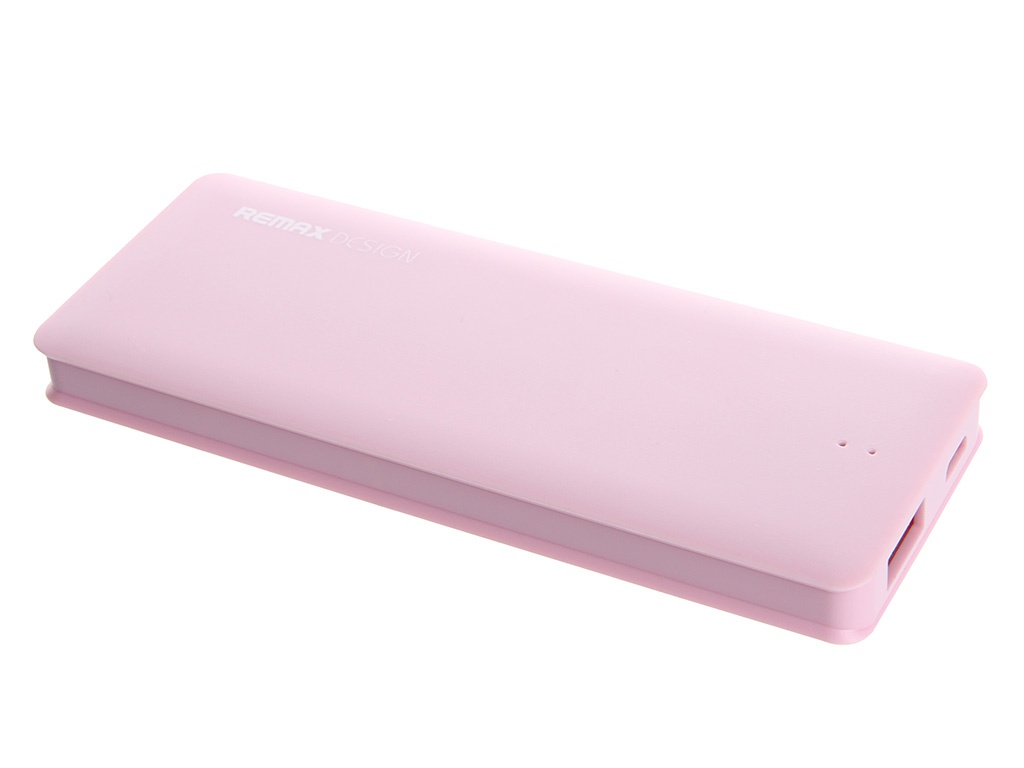Аккумулятор Remax Candy bar series 5000 mAh Item RM1-012 Pink 51442