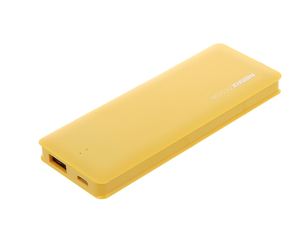 Аккумулятор Remax Candy bar series 5000 mAh Item RM1-012 Yellow 51444