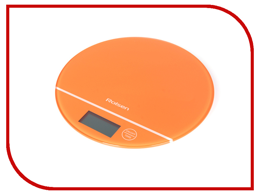 Весы Rolsen KS-2906 Orange