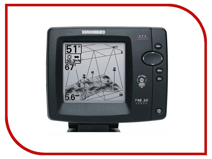 Эхолот Humminbird 748x 3D<br>