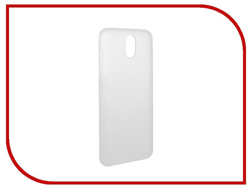 Аксессуар Чехол HTC Desire 620 Soft White HC C1050<br>