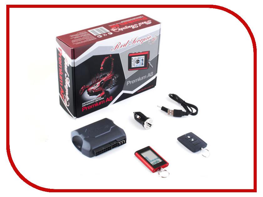 Сигнализация Red Scorpio Premium A8<br>