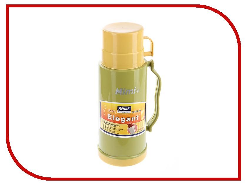 Термос Mimi ET100 1L Green-Yellow