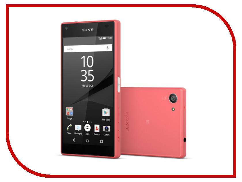 Сотовый телефон Sony E5823 Xperia Z5 Compact Coral<br>