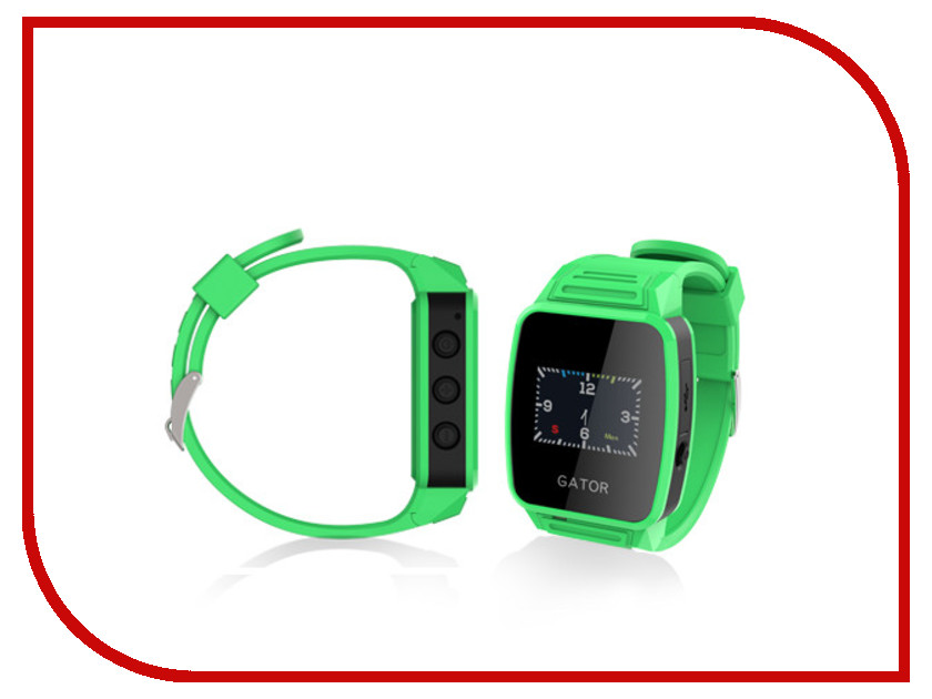 Zakazat.ru: Умные часы Gator Caref Watch Green