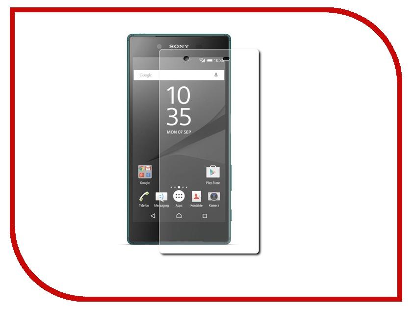 Аксессуар Защитная пленка Sony Xperia Z5 Red Line матовая<br>