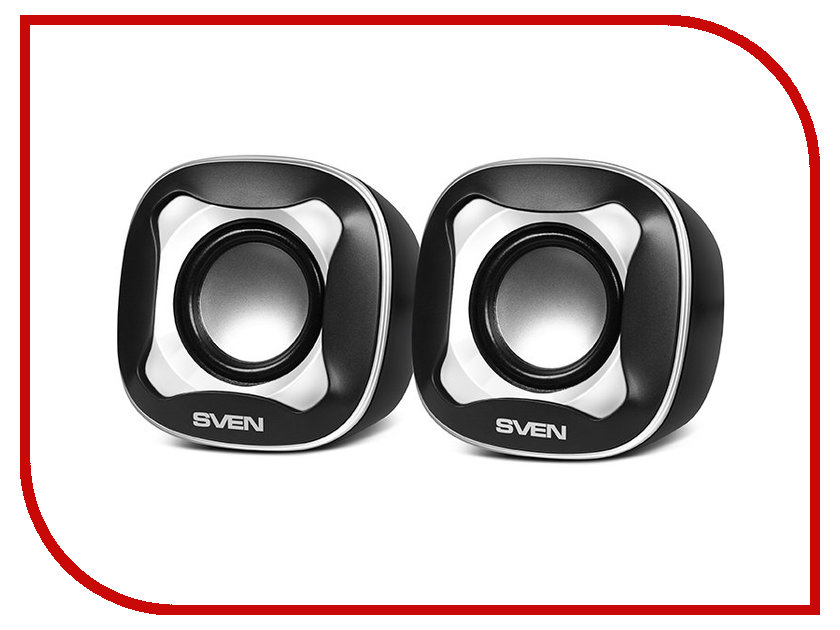 Колонка Sven 170 SV-013523 Black-White колонка sven mc 10 sv 014018 black