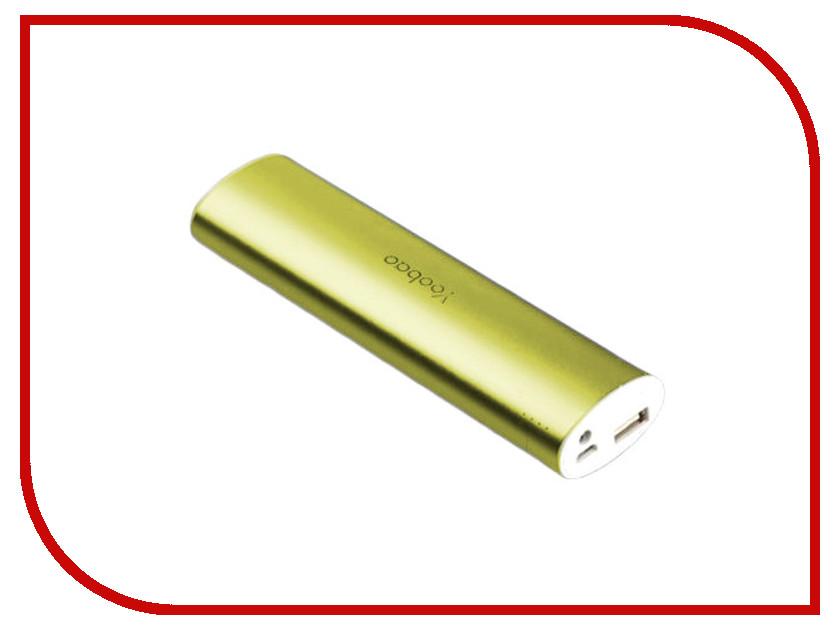 Аккумулятор Yoobao YB-6014 PRO 10400mAh Green аксессуар yoobao usb type c microusb lightning yb 453 gold
