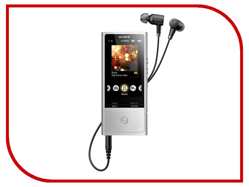 Плеер Sony Walkman NW-ZX100 - 128Gb Silver